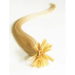 Vlasy pro metodu Pu Extension / TapeX / Tape Hair / Tape IN 60cm - světlý melír