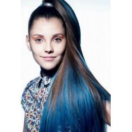 Clip in vlasy 43cm 100% lidské - REMY 70g – středně hnědá