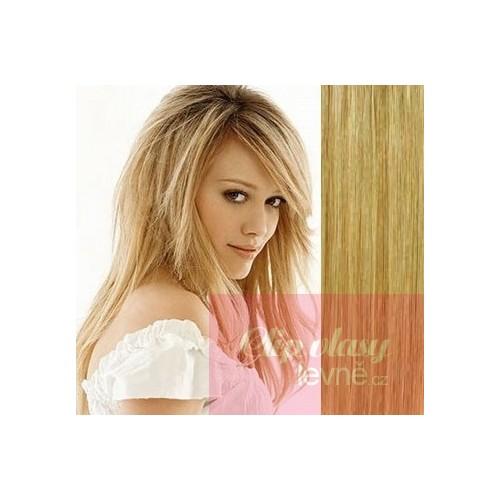 Clip in maxi set 73cm pravé lidské vlasy – REMY 280g – PLATINA SVĚTLE HNĚDÁ b3427d3cd7a