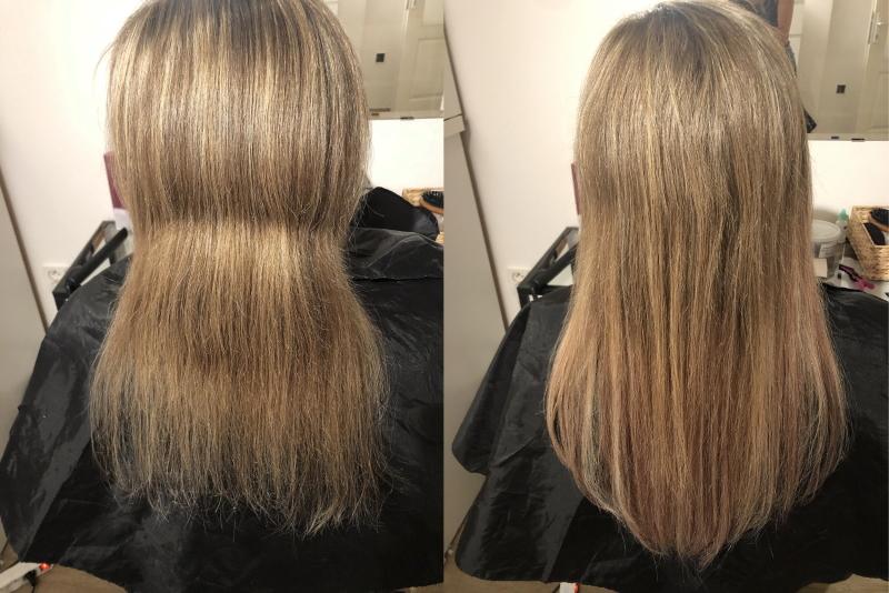 zhustenie vlasov Tape in - vlasové pásky