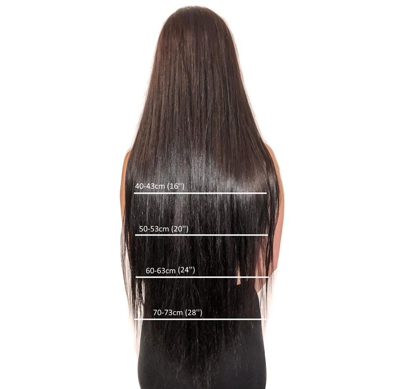 Jak vybrat délku Clip in vlasů