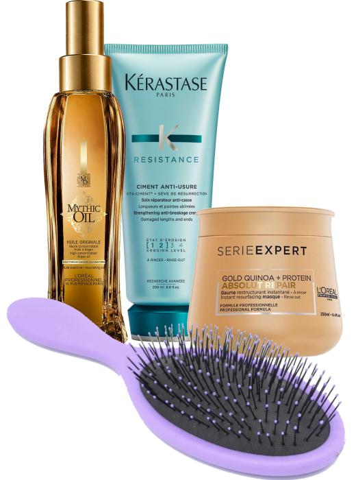 Kosmetika vhodná na prodloužené vlasy