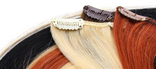 Clip in vlasy k prodloužení