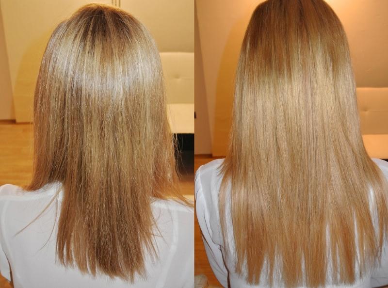 Predĺženie vlasov Tape in metódou