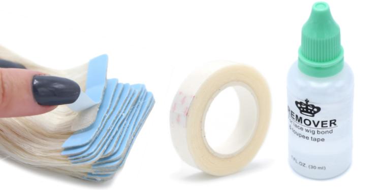Odstraňovač a páska na Tape in