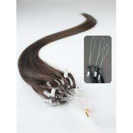 Clip in maxi set 43cm pravé lidské vlasy - REMY 140g - přírodní/světlejší blond