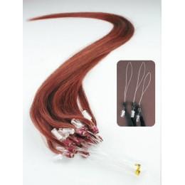 Vlasy pro metodu Micro Ring / Easy Loop / Easy Ring / Micro Loop 50cm – měděná